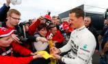 Ferrari pens touching message for Schumacher