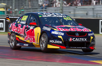 Volvo on front-row as Red Bulls share poles