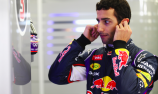 Early shower for Ricciardo at Bahrain F1 test