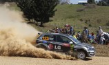 Eli Evans switches cars for ARC opener