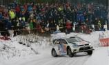 Latvala leads after Ogier slips up in Sweden