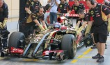 Lotus makes debut as Bahrain F1 test begins