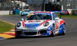 Luff the pacesetter in Carrera Cup practice