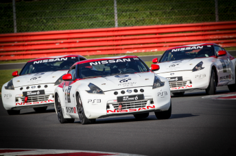 The Nissan GT Academy in action at Silverstone