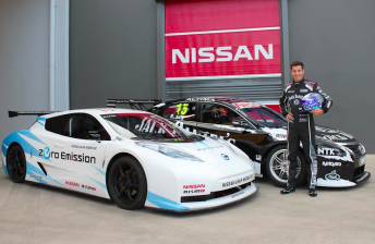 Nissan to demonstrate electric racer in Adelaide