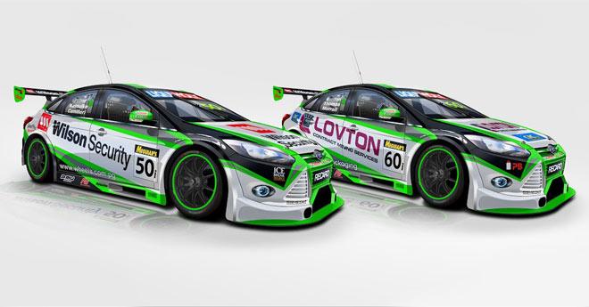 Marc Focus Race Car