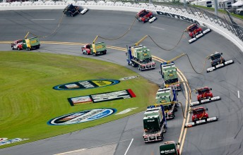 The Air Titan track dryers out at Daytona