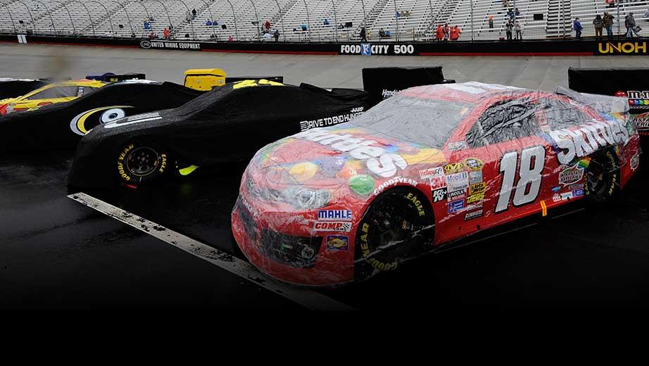 Rain stops NASCAR at Bristol - Speedcafe