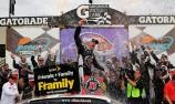 Harvick wins in Phoenix