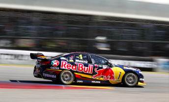 Jamie Whincup on his way to victory
