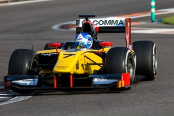 Jolyon Palmer quickest on Day 1 in GP2 pre-season tests at Abu Dhabi