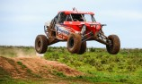 Offroad signs energy drinks backer to series