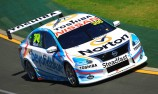 Caruso ups the ante in second V8 practice