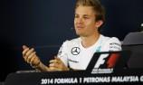 Rosberg on top in Sepang practice