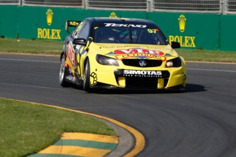 Shane van Gisbergen took victory in Race 1