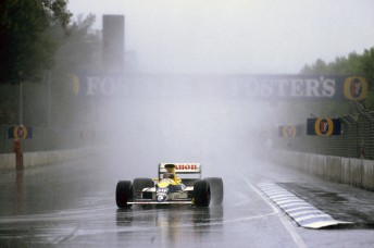 Thierry Boutsen winning the 1989 AGP