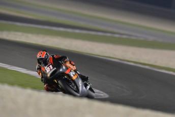 Aleix Espargaro fastest in Qatar test