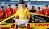 Logano scores NASCAR pole in Las Vegas