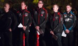 VIDEO: V8 stars attend dawn service in NZ