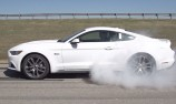 VIDEO: Burnout feature on 2015 Mustang GT