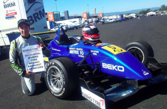 Anthony blazes to record lap in F3 win at Bathurst