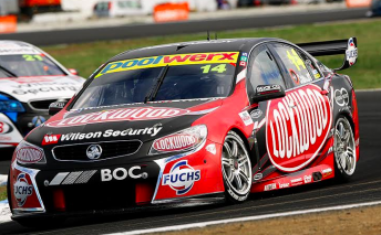 Fabian Coulthard scored his fourth career victory