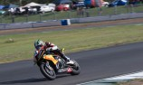 Glenn Allerton takes Superbike win at stormy QR