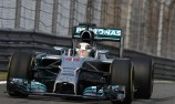 Hamilton scores hat-trick in China