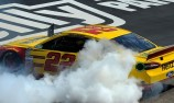 Logano wins delayed Texas Cup race