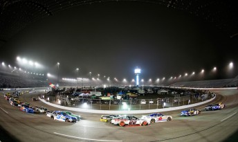 Toyota Owners 400 in Richmond ended in a Saturday fight night for Ambrose and Mears