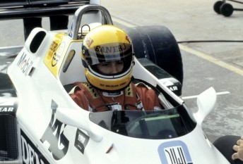 Senna tests Williams in 1983