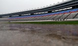 Weather good for ducks and not NASCAR
