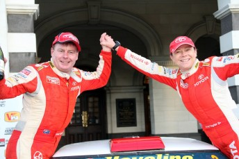 Neal Bates and Coral Taylor claim a second straight Otago Rally win