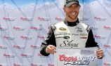 Part-timer scores shock Talladega pole