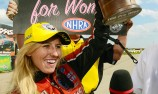Castrol-backed Courtney Force creates NHRA history