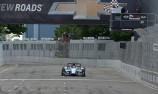 Burst water main damages Detroit Indy track