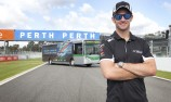 VIDEO: Davison takes the wheel of big Merc