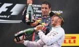 Mercedes duo lead home Ricciardo in Spain