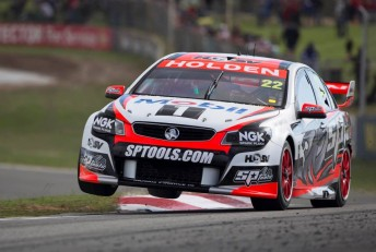 James Courtney at Barbagallo