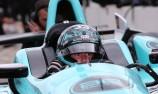 Davison cracks first laps in Indy rookie test
