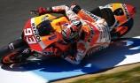 Marquez maintains pace in Jerez test