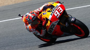 Marc Marquez dominates on home soil