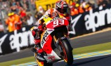Marquez stuns Le Mans crowd with record win