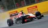 Chilton surprises field in Barcelona F1 test