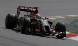 Maldonado ends Barcelona test on top