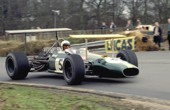 Surtees rates Jack Brabham his toughest rival