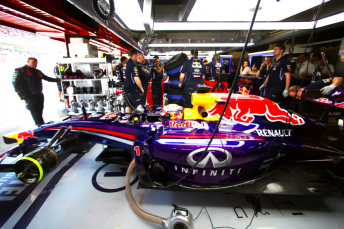 Buemi and Vettel will share the RB10 at the two-day test