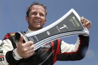 Petter Solberg wins opening round of World Rallycross