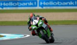 Sykes secures lead after Donington double