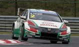 Rain halts success in Slovakia for Castrol Honda WTCC team